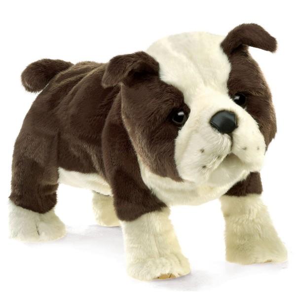 Folkmanis Handpuppe Englische Bulldogge