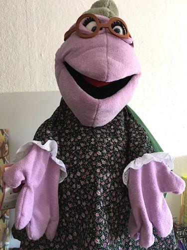 Handpuppe Oma Flönz aus der Wiwaldi Show