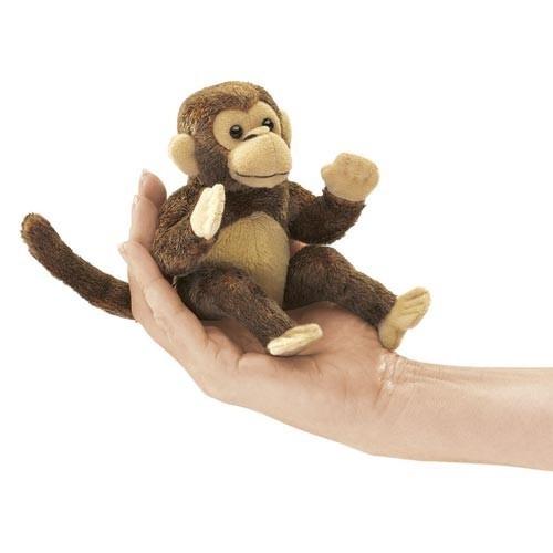 Fingerpuppe Mini Affe von Folkmanis