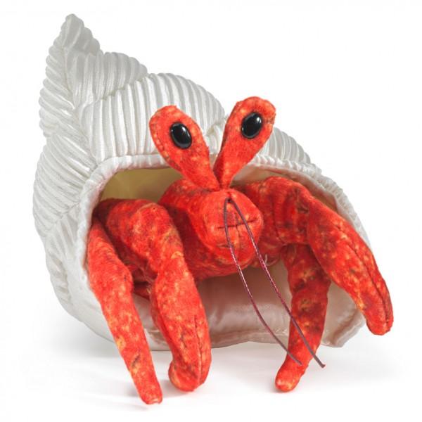 Folkmanis Handpuppe Mini Einsiedlerkrebs / Mini Hermit Crab