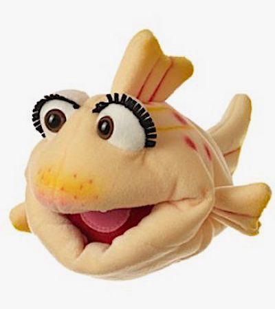 Living Puppets Handpuppe Flupsi