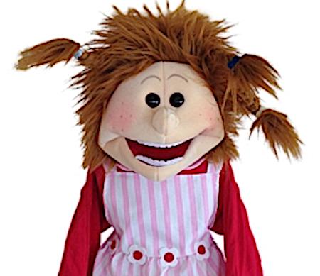 Living Puppets Handpuppe Josefine 65cm