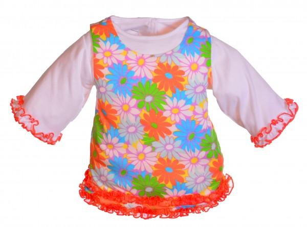 Geblümtes Kleid für 65 cm Living Puppets