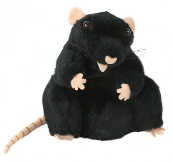 Handpuppe schwarze Ratte von The Puppet Company
