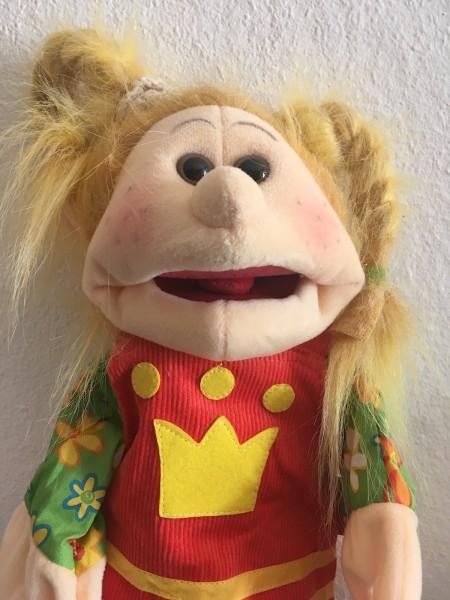 Living Puppets Handpuppe Jennylein mit Cordkleid- 35cm