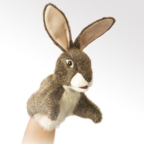 Folkmanis Handpuppe Kleiner Hase