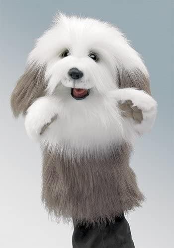 Armspielpuppe Bobtail Hund Folkmanis