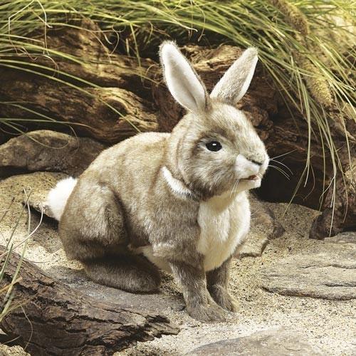 Folkmanis Handpuppe Baumwollschwanz-Kaninchen