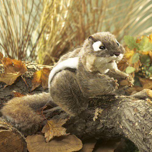 Folkmanis Handpuppe Östliches Streifenhörnchen