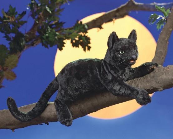 Folkmanis Handpuppe schwarze Katze