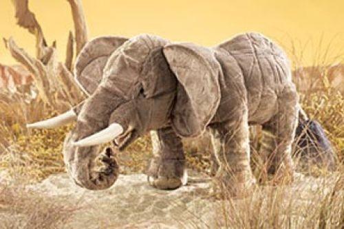 Folkmanis Handpuppe Elefant