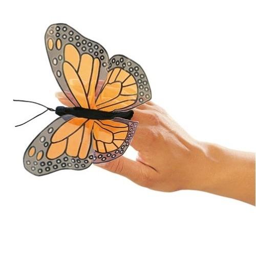 Fingerpuppe Folkmanis Mini Monarch Schmetterling