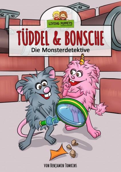 """Living Puppets Buch Tüddel & Bonsche """"Die Monsterdetektive"""