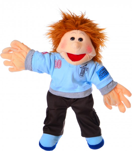Living Puppets Handpuppe Thilo 45cm