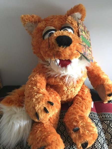 Hanbdpuppe Herr Fuchs / Mr. Fox von Lining Puppets