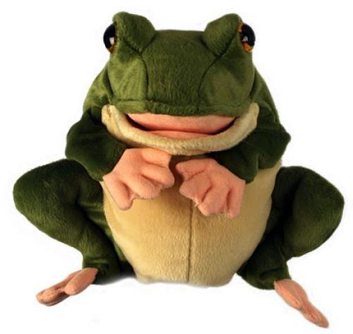 Handpuppe Frosch von Puppet Company
