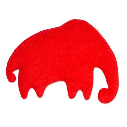 Lesch Wärmekissen - Leschifant rot, groß