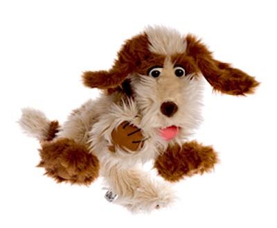 Hund Tillmann Handpuppe