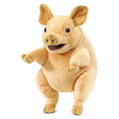 Folkmanis Handpuppe Schweinchen