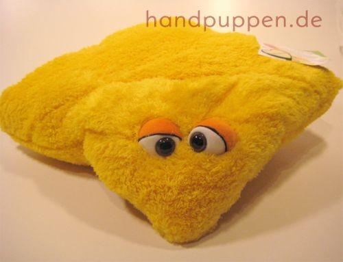 Living Puppets Kissen gelbes Wunschtraumkuschelmuschelkissen