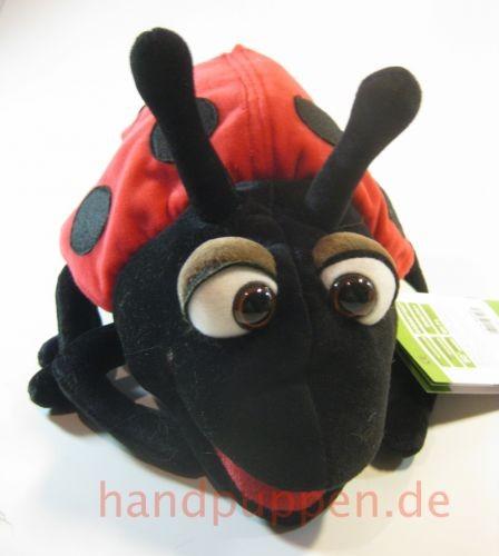 Living Puppets Handpuppe Hubi der Marienkäfer