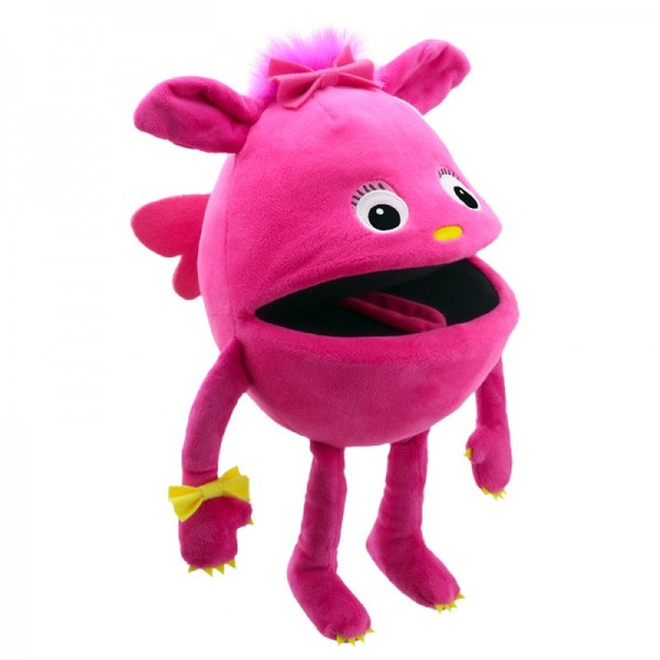 Baby Monster Pink von The Puppet Company