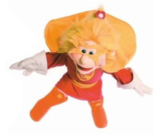 Living Puppets Handpuppe Superheldin 65cm