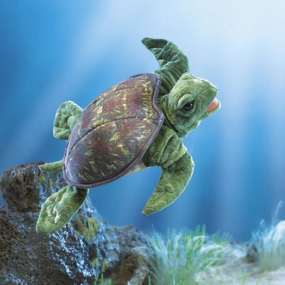 Folkmanis Handpuppe Meeresschildkröte