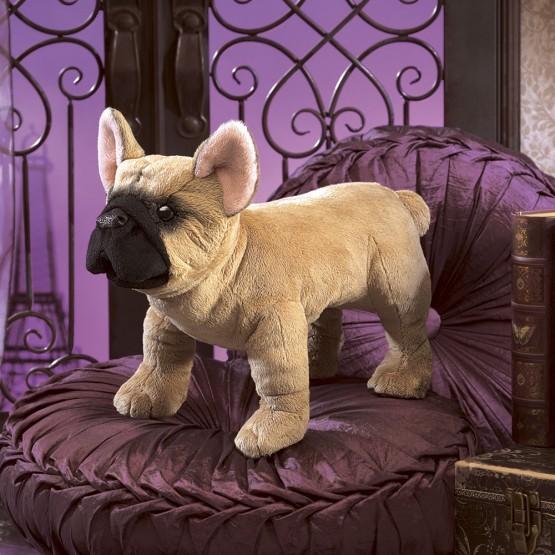 Folkmanis Handpuppe Französische Bulldogge