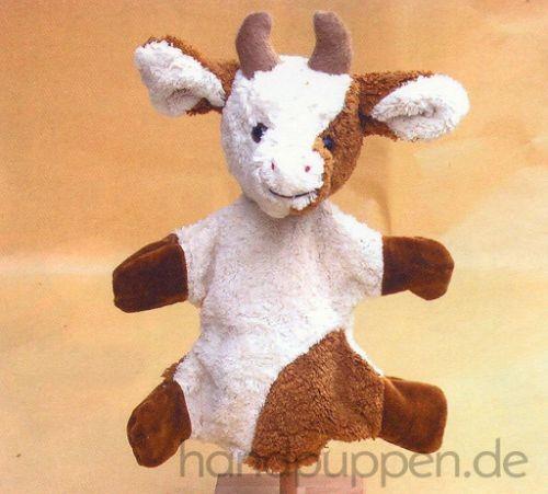 Handpuppe Kuh von Kallisto