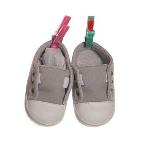 Living Puppets Schuhe grau für die 65cm Puppen