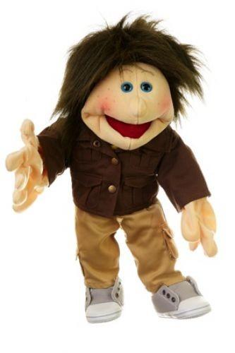Living Puppets Handpuppe kleiner Malte 45cm