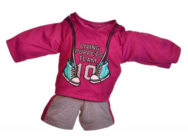 Sportbekleidung für die 65cm menschlichen Handpuppen
