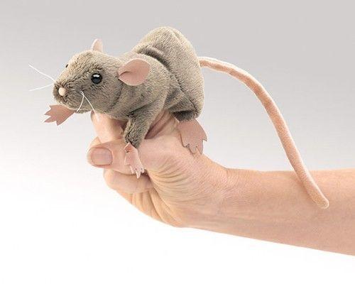 Folkmanis Fingerpuppe Mini Ratte