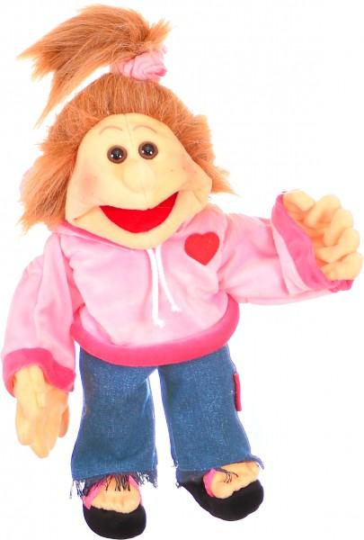 Paulalein Handpuppe 35cm Living Puppets