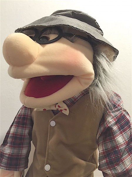 Living Puppets Handpuppe Opa - Großvater 65cm