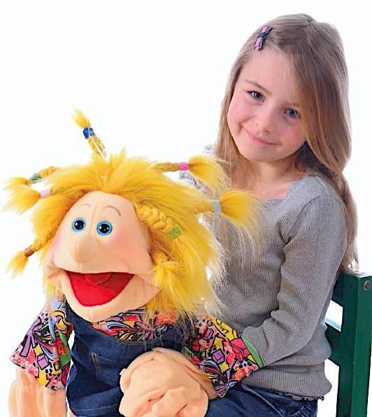 Living Puppets Handpuppe Isabella 65cm