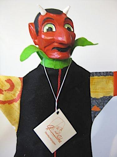 GiScha Kasperlefigur Teufel 35cm