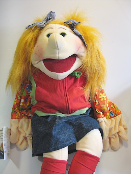 Living Puppets Handpuppe Juliane 65cm