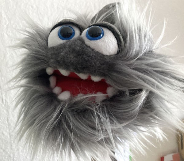 Living Puppets Kleiner Hainer Handpuppe Plappermaul- W836