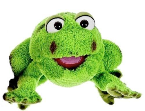 Living Puppets Handpuppe Rolf der Frosch