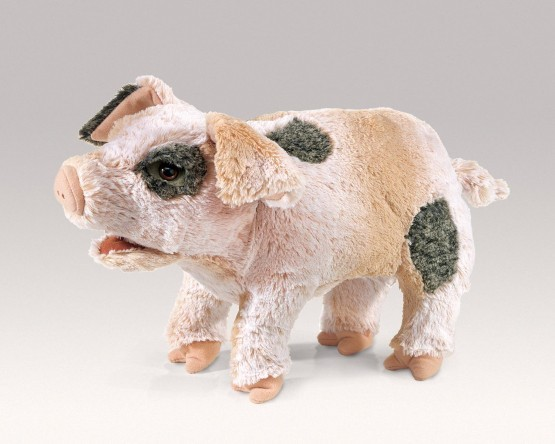 Folkmanis Handpuppe grunzendes Schweinchen