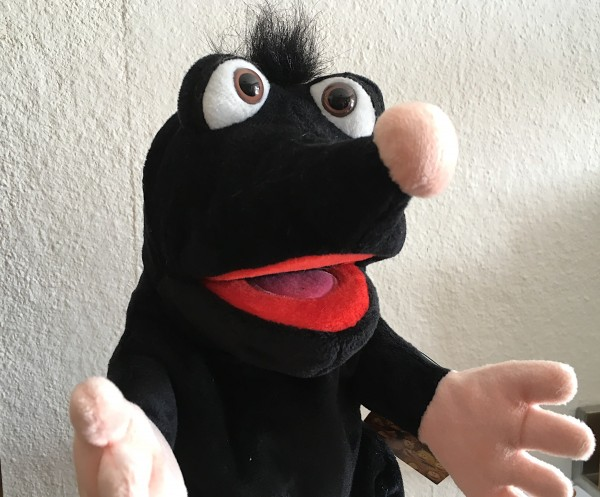 Living Puppets Handpuppe Maulwurf Schwups