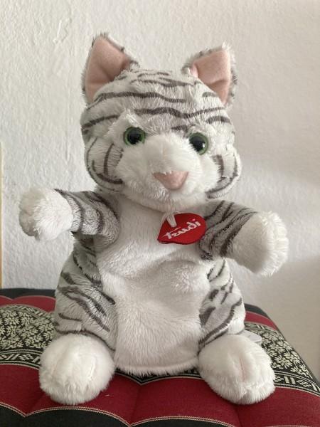 Handpuppe Katze von Trudi