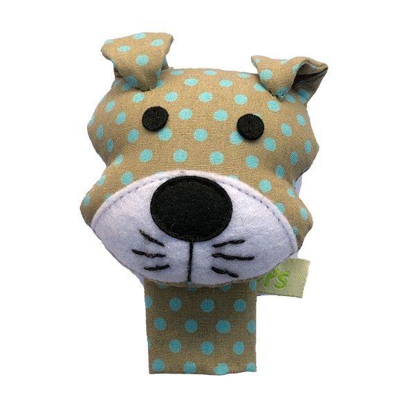 Fingerpuppe Hund von Hickups