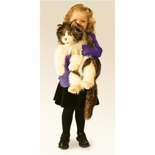 Folkmanis Handpuppe Wuschelige Katze - Ragdoll cat