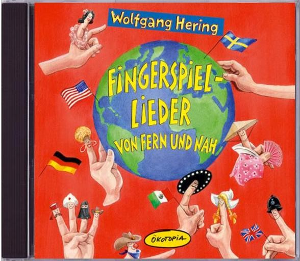CD Fingerspiel-Lieder von fern und nah