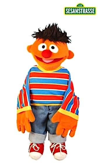 Living Puppets Handpuppe Ernie 45cm