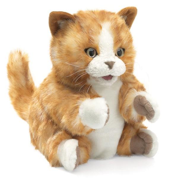 Tabby kitten Folkmanis