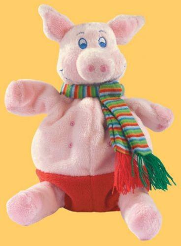Handpuppe Schwein Paul